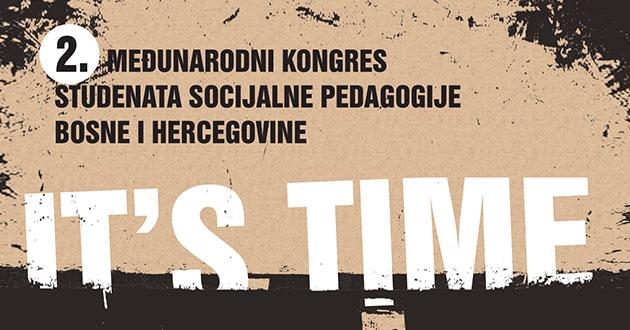 Poziv za učešće na Drugom međunarodnom Kongresu studenata socijalne pedagogije BiH