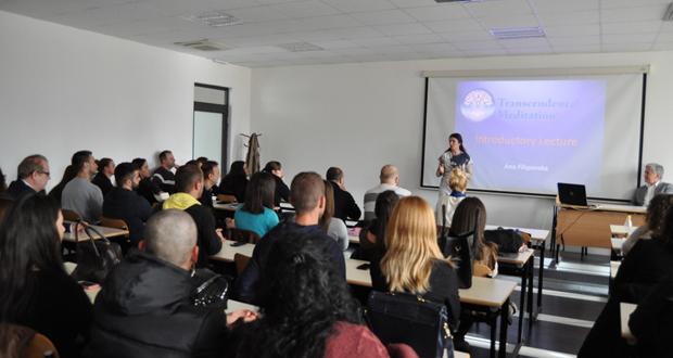 """PFK: Održano predavanje na temu """"Uloga transcendentalne meditacije u povećanju eficijentnosti i kvaliteta učenja"""""""