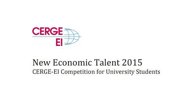 """""""Novi talent u svijetu ekonomije 2015"""": Nagrada 1,000 USD"""