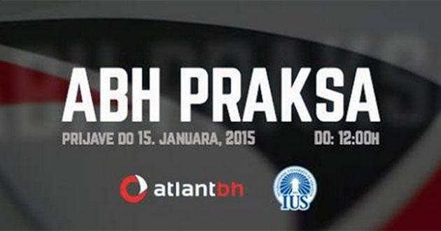 Atlantbh (ABH): Poziv na učešće u programu prakse