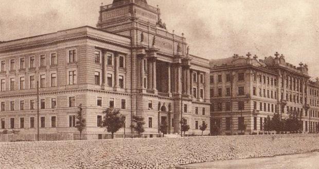 Pogled u prošlost: Kako je izgledala zgrada Pravnog fakulteta u Sarajevu prije više od 100 godina