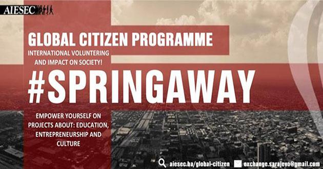 Be a Global Citizen: Zgrabi šansu globalnog uticaja ovog proljeća