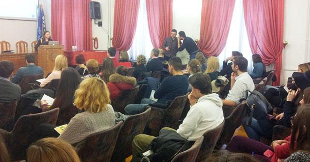Promocija Green TECH projekta u Sarajevu, foto: Zvjezdan Živković (RFE/RL)