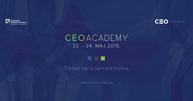 CEO Academy 2015 – prilika za  profesionalni razvoj i usavršavanje vještina potrebnih mladima na tržištu rada