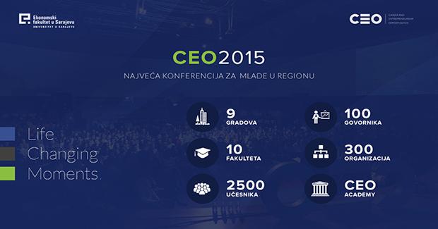 Sa porukom mladima da je uspjeh moguć, CEO konferencija sada u pet država regije