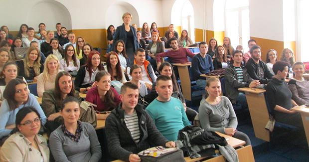"""Na Ekonomskom fakultetu u Bihaću održana radionica pod nazivom """"Liderstvo i komunikacija"""""""