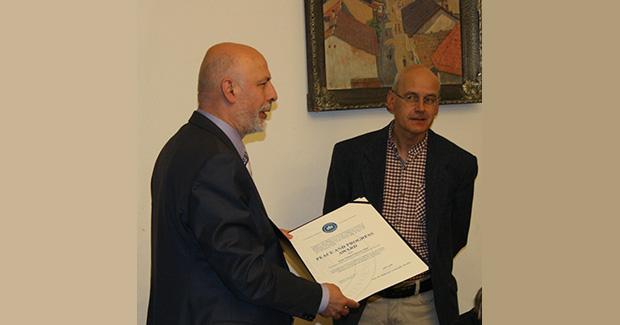 Uručena Nagrada za mir i progres Univerziteta u Sarajevu dr. Arneu Johanu Vetlesenu