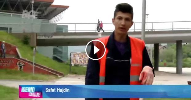 Priča o Safetu Hajdinu: Vrijedno čisti zeničke ulice i ne stidi se svog posla