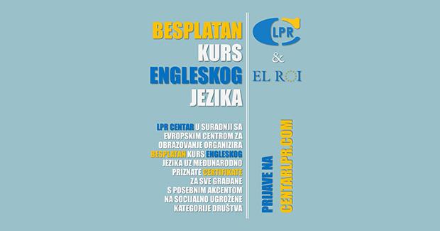 Besplatan kurs engleskog jezika za sve građane Zenice