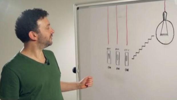 Riješite zagonetku: Postoje tri prekidača, koji od njih je za lampu?