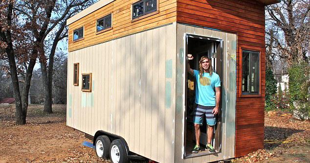 Student sagradio vlastitu kućicu kako bi izbjegao zaduživanje [FOTO]