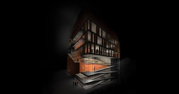 Budući izgled nove zgrade ASU u Sarajevu, foto: Klix.ba