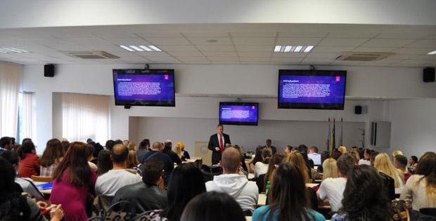 Sudija Frank J. LaBuda održao seminar na Pravnom fakultetu Univerziteta u Travniku