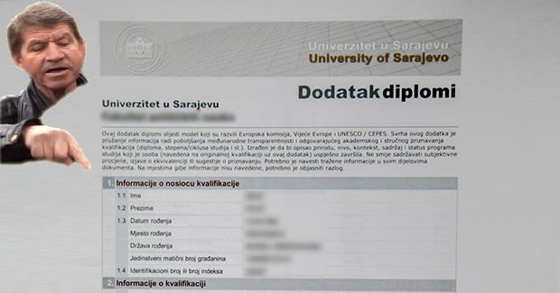 """""""A gdje je pečat"""": Dodatak diplomi UNSA pravno upitan zbog banalnog propusta"""