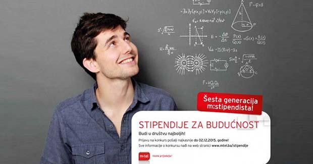"""""""Stipendije za budućnost"""": Otvoren konkurs za izbor šeste generacije m:stipendista"""