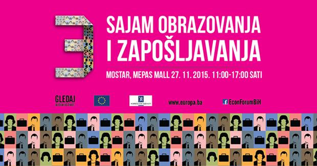 Sajam obrazovanja i zapošljavanja u Mostaru 2015