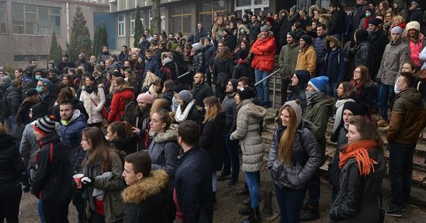 Odluka nakon protesta: Uprava Arhitektonskog fakulteta u Sarajevu ispunit će sve zahtjeve studenata