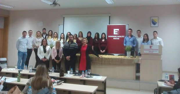 Studenti Ekonomskog fakulteta u Mostaru kao budući poduzetnici