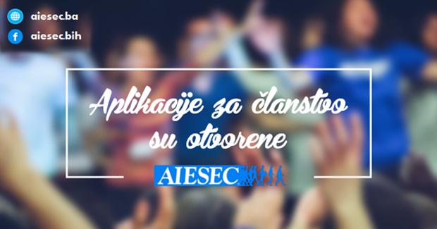 AIESEC BiH prima nove članove u lokalnim uredima širom BiH
