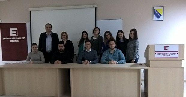Radom do uspjeha Studenti Ekonomskog fakulteta u Mostaru koncipiraju međunarodne projekte
