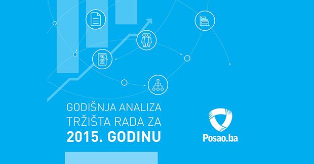 Godišnja analiza tržišta rada: Tokom 2015. godine objavljeno preko 20.000 radnih pozicija u BiH