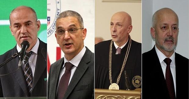 Rifat Škirljelj, Ejub Džaferović, Muharem Avdispahić i Faruk Čaklovica; foto: Klix.ba