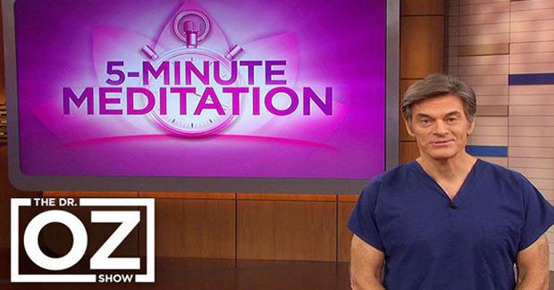 Petominutna meditacija dr. Oza čini čuda za um i tijelo
