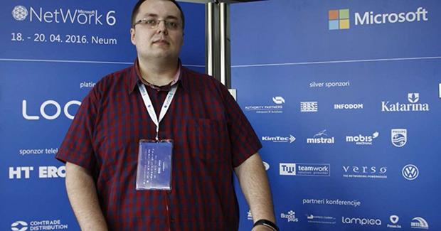 Enis Šahinović, direktor NetWork konferencije, foto: Oslobođenje