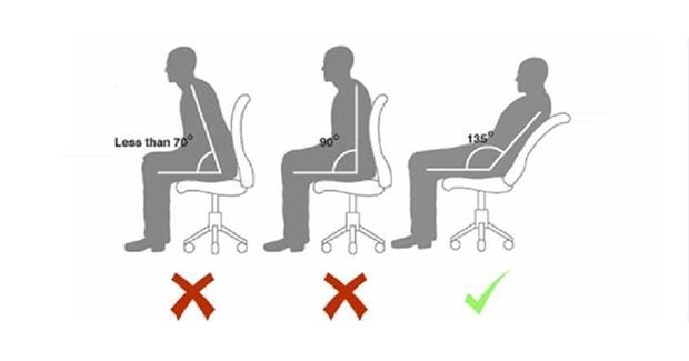 Sjedenje sa ispravljenim leđima je loše za vašu kičmu