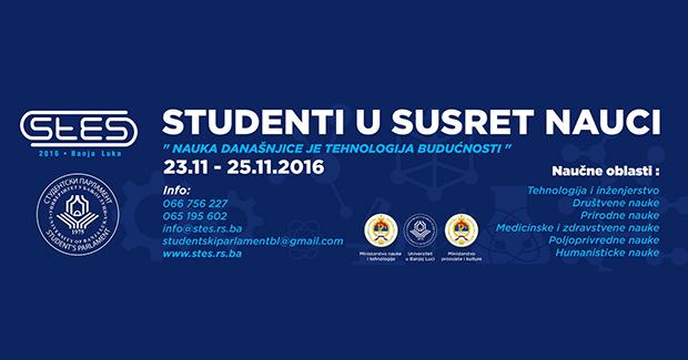 """StES 2016: Deveta naučno-stručna konferencija """"Studenti u susret nauci"""" u Banjoj Luci"""