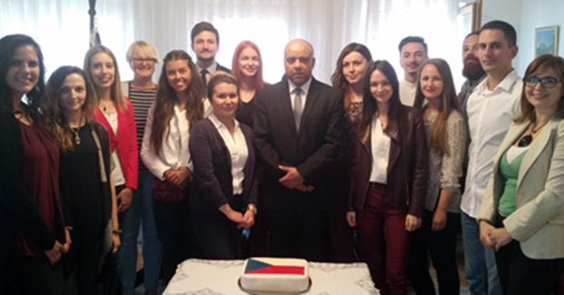 U Ambasadi Češke u Sarajevu održan prijem za stipendiste studija u Češkoj