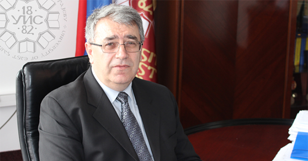 Radoslav Grujić, rektor UIS