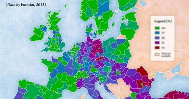 Ovo su zemlje sa najobrazovanijim stanovništvom u Evropi