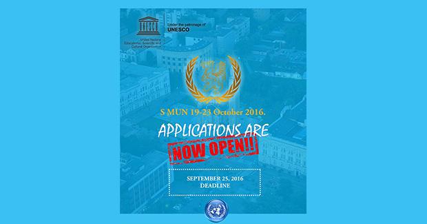 """Prijave za učešće na """"Students' Model United Nations Banja Luka 2016"""""""