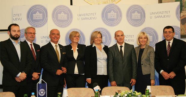 Rektor Univerziteta u Sarajevu predstavio novoizabrane prorektore