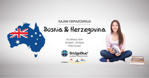 Studiraj u Australiji: Obrazovni sajam u Sarajevu u organizaciji BridgeBlue Global Education