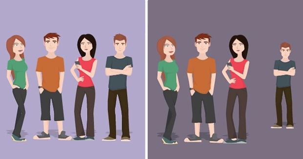 Deset razlika između pravih i toksičnih prijatelja [FOTO]