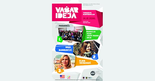 XIII konferencija Vaša(r) ideja u Sarajevu