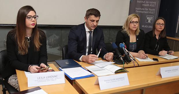 Istraživanje: Mladi u Kantonu Sarajevo su u vrlo lošem položaju