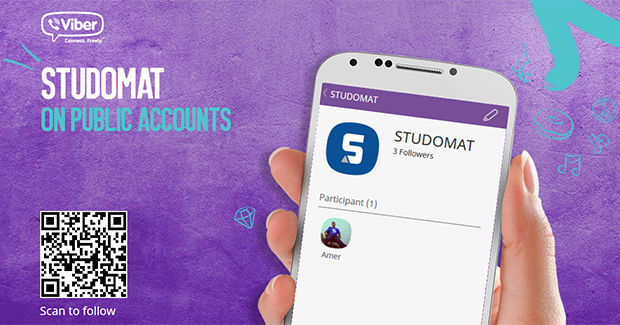 Sjajne vijesti za studente: Od danas STUDOMAT možete pratiti i na Viberu