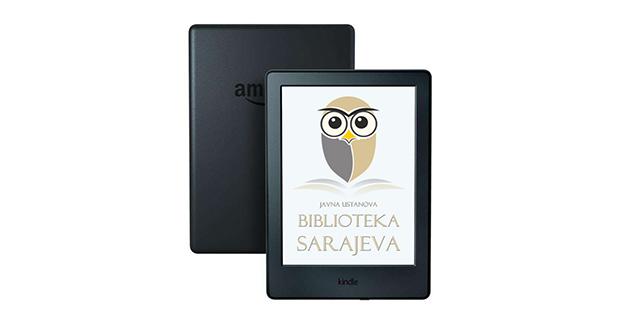 JU Biblioteka Sarajeva od sada pozajmljuje i elektronske čitače knjiga