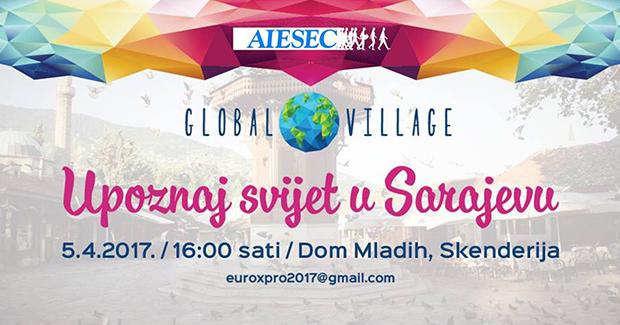 AIESEC BiH: Sarajevo u susret najvećem evropskom sajmu kultura – Global Village