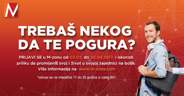 Prilika za sve mlade ljude od 17 do 35 godina iz cijele BiH