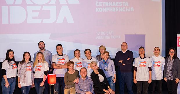 Održana XIV konferencija Vaša(r) ideja u Sarajevu