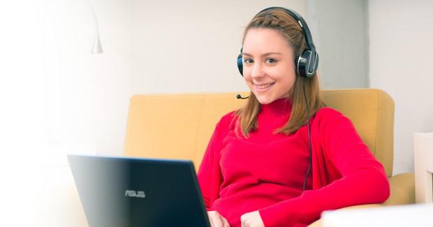 Zaradite radeći od kuće: Časovi engleskog jezika preko Skypea
