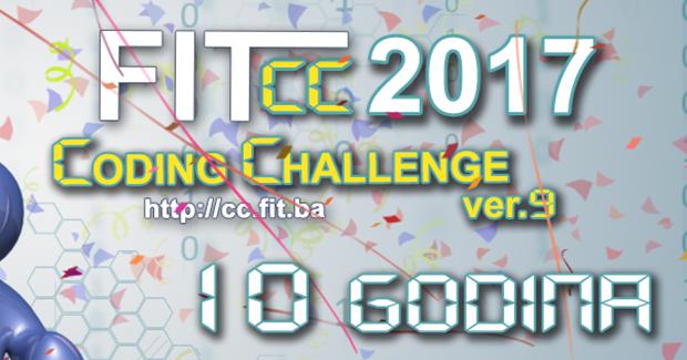 FIT Coding Challenge 2017: Budite dio izazova