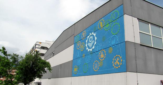 Univerzitet u Banjoj Luci dobio svoj mural