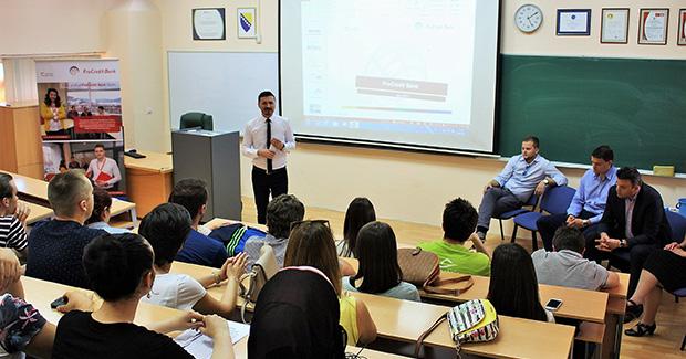 EFSA Career Center održao CareerChat sa ProCredit Bank