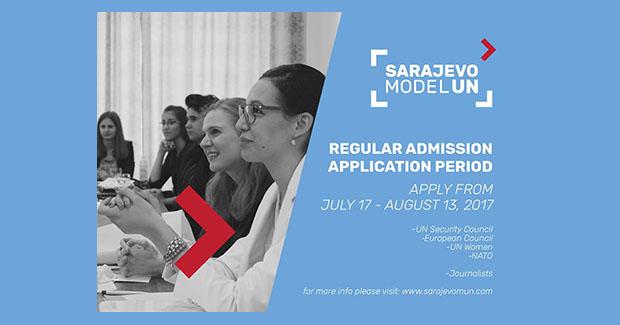 Otvoren drugi krug aplikacija za konferenciju Sarajevo Model UN'17
