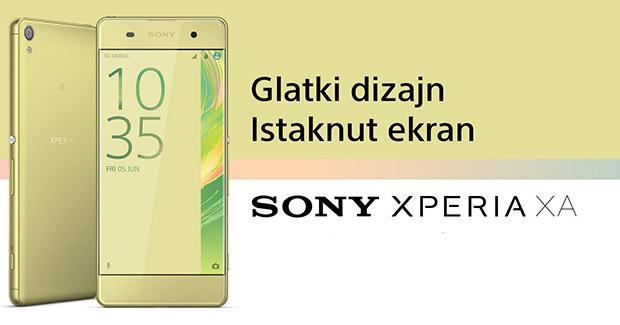 Novo u ponudi BH Telecoma: Sony Xperia XA